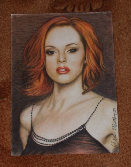 Rose McGowan by Andii